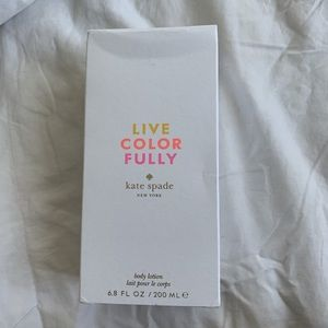 kate spade Other - Kate Spade Live Color Fully Body Lotion
